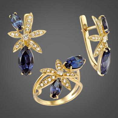 кольца из серебра с камнями цены